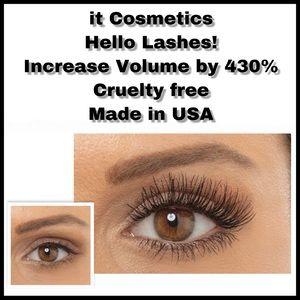 IT COSMETICS   Hello Lashes 5-in-1 Mascara Black